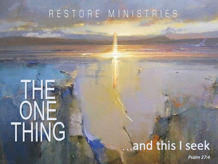 Restore : A Soulcare Ministry - Blog